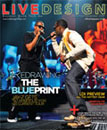 Live Design Magazine cover